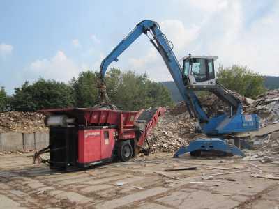 Neu gewonnene Recyclingprodukte für die Wirtschaft
