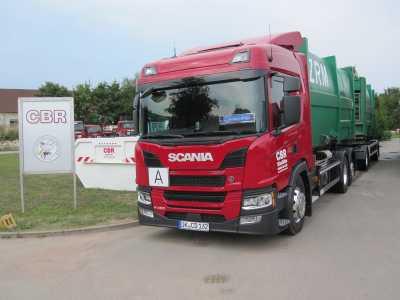 Transport zahlreicher Abfälle und Schüttgüter