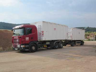 Abfall- und Schüttguttransporte für Privat- und Gewerbekunden in Thüringen